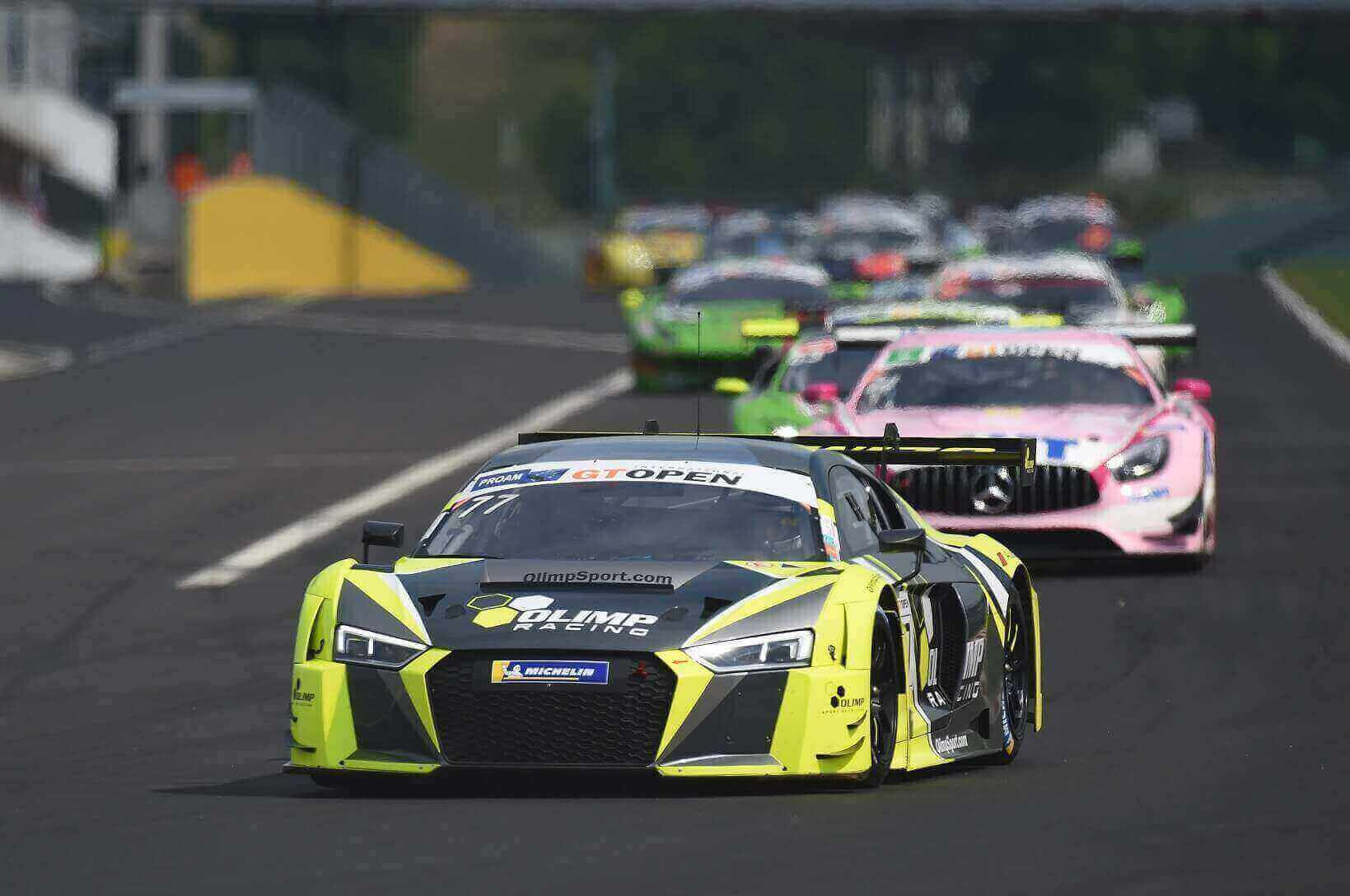 Tough start for Olimp Racing in International GT Open
