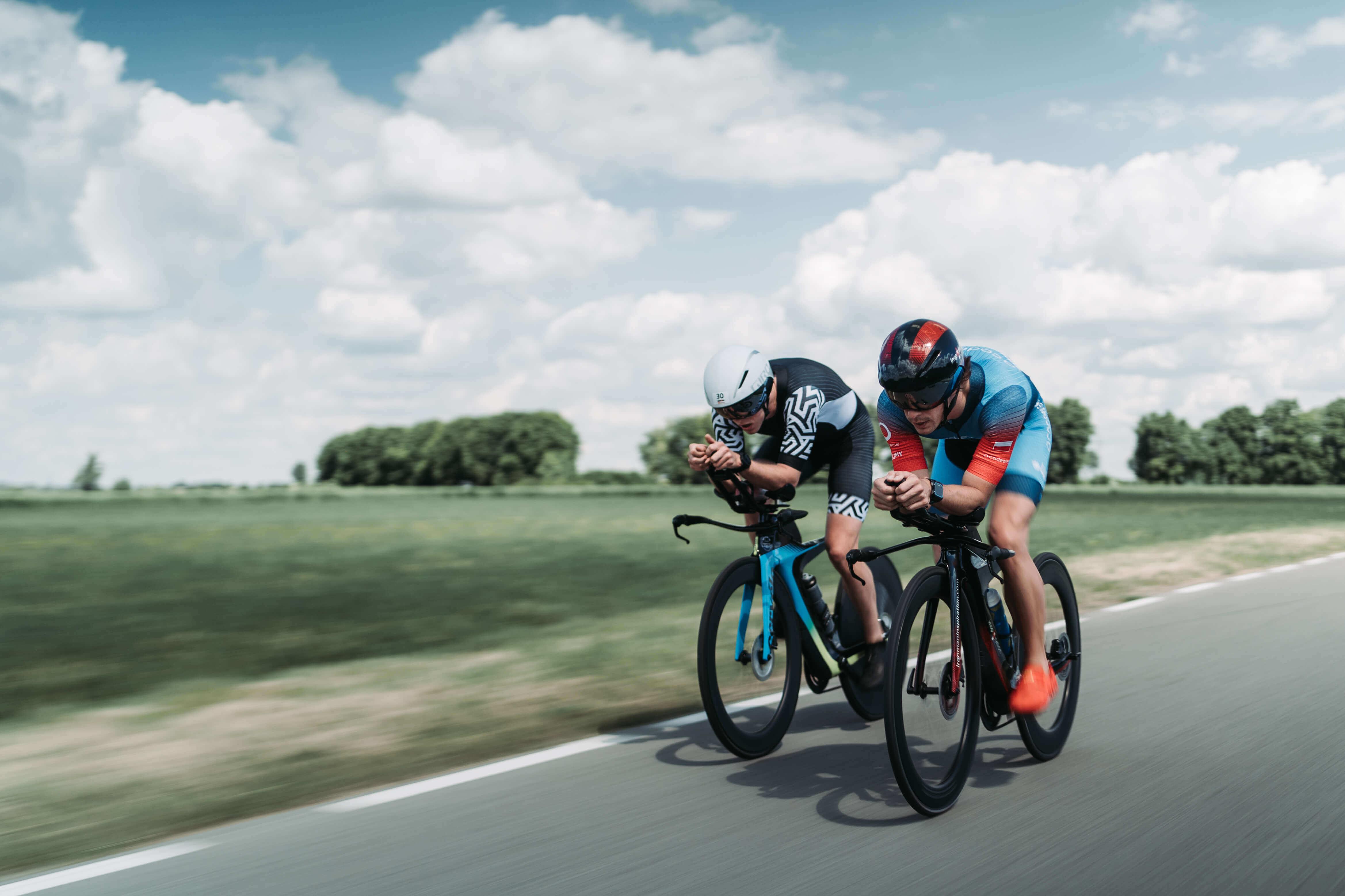 Guida per il triatleta:  il ciclismo - i consigli più importanti