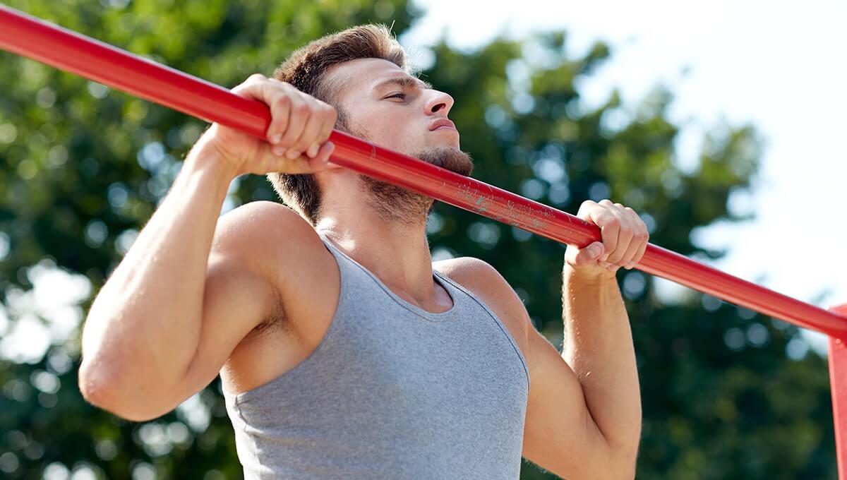 Street workout  - jak wykonać pierwsze pociągnięcie