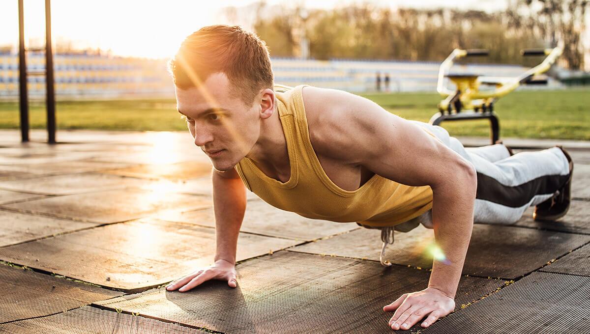 Street workout  - zacznij od pompek