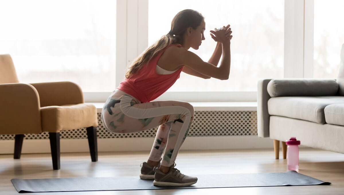 Training für den Hintern zu Hause.  Woran sollte man denken?
