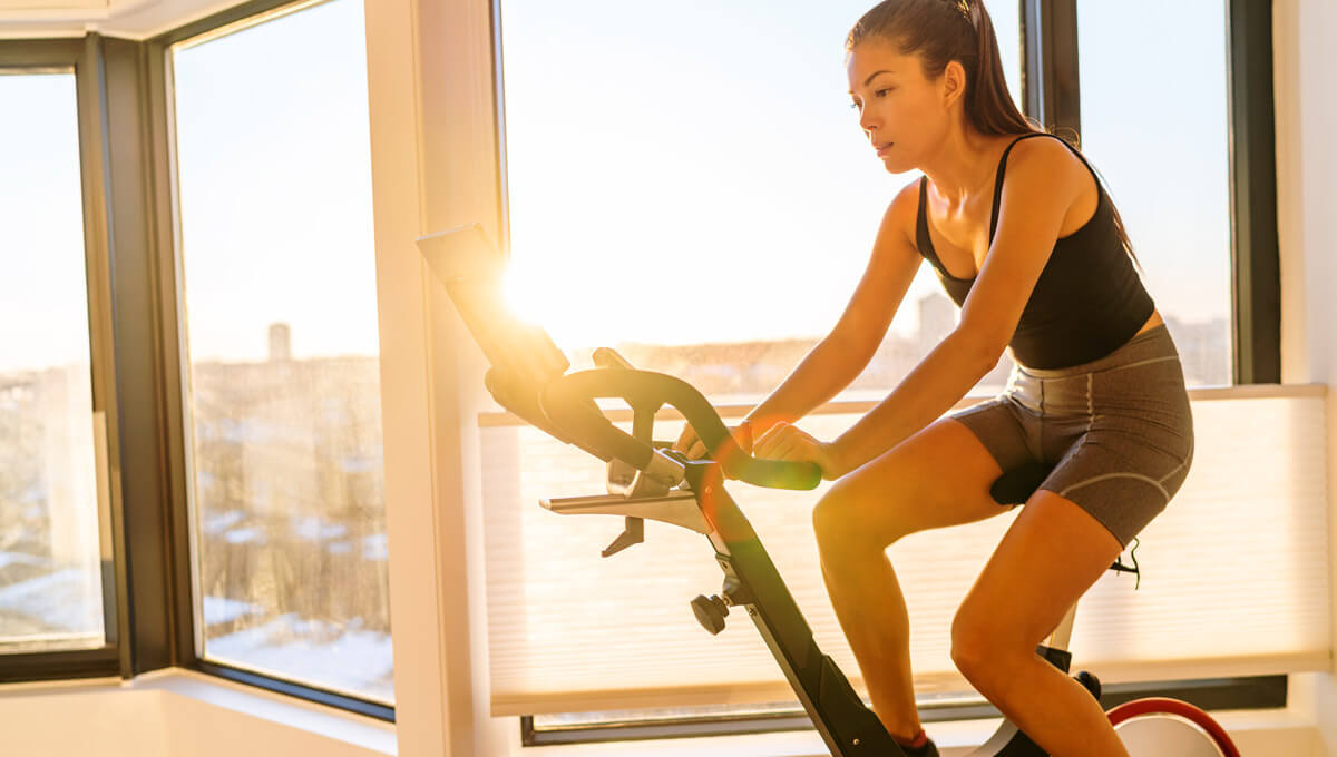 Stationary bike training.  Learn its rules!