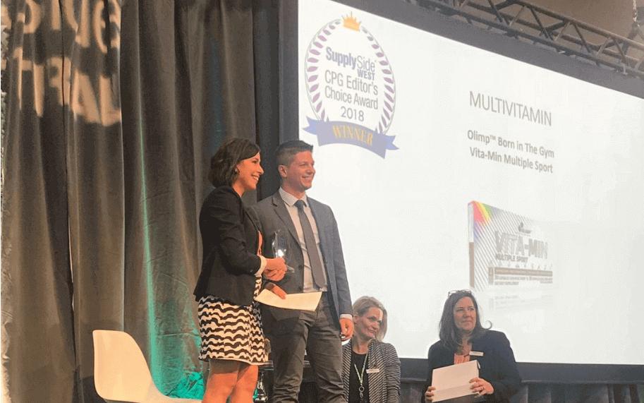 ¡Vita-min Multiple Sport  se lleva a casa un prestigioso premio!