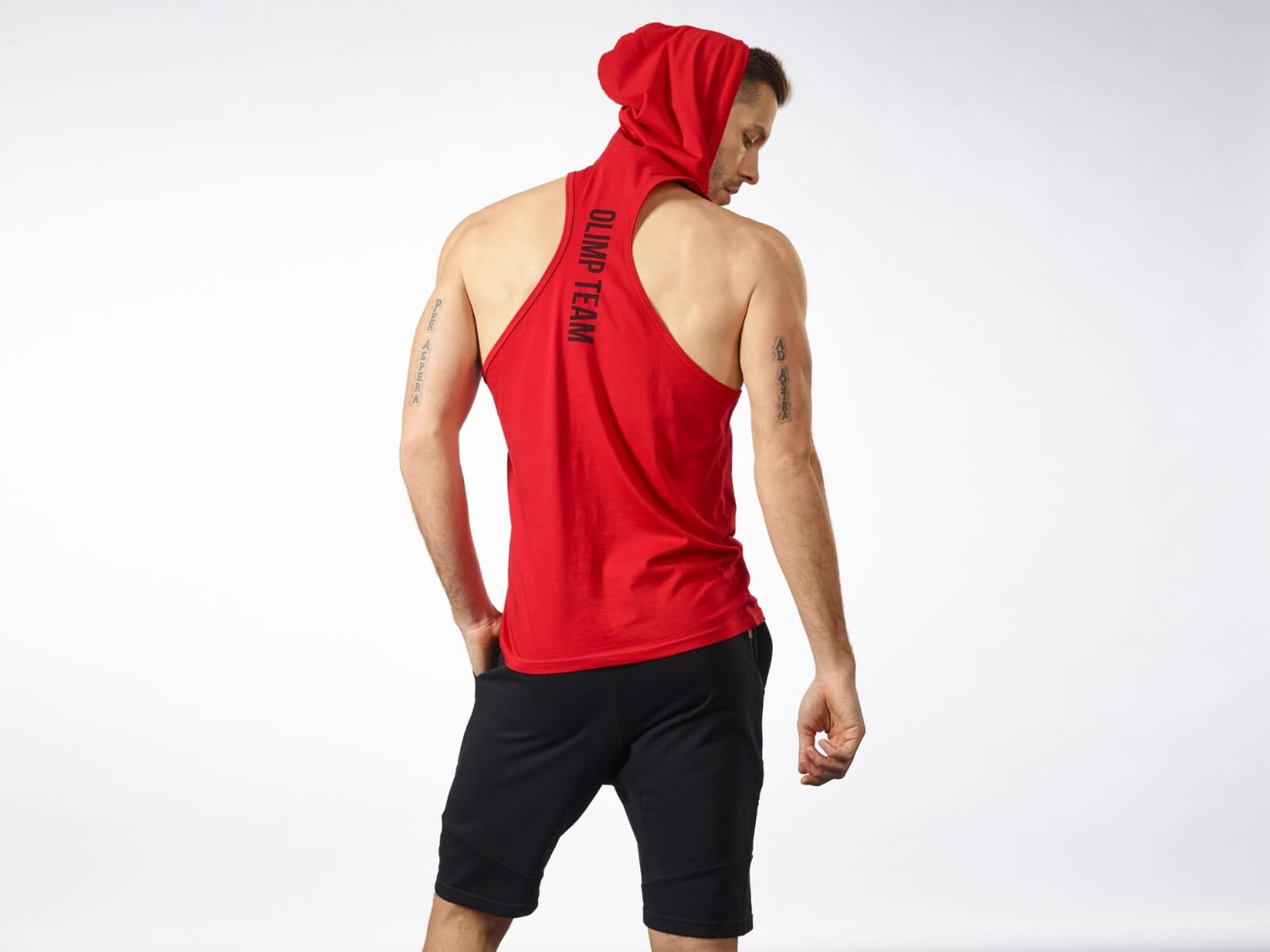 Men's Hoodie Stringer Classic Red