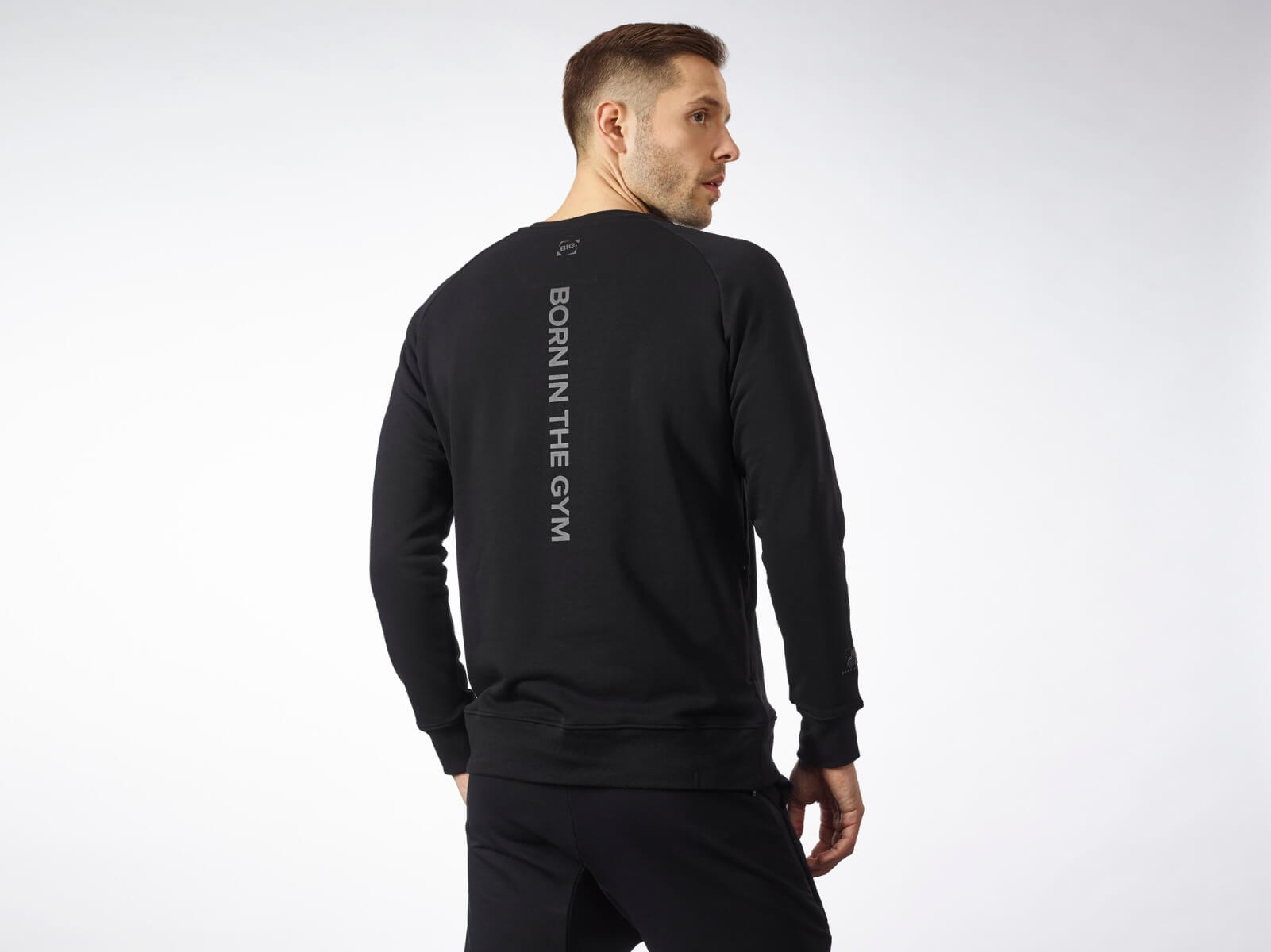 MEN'S PULLOVER BLACK SERIES BLACK